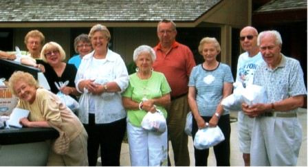 Summer ingathering of lunches by Church Elders for School District 260